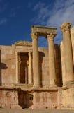 Zuidentheater, Jerash Stock Foto