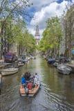 Zuiderkerk在阿姆斯特丹,荷兰 库存图片