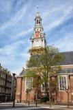 Zuiderkerk在阿姆斯特丹 库存图片