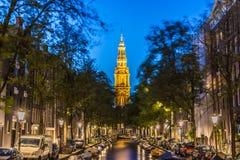 Zuiderkerk в Амстердаме, Нидерланды Стоковое фото RF