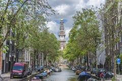 Zuiderkerk в Амстердаме, Нидерланды Стоковые Фотографии RF