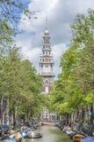 Zuiderkerk в Амстердаме, Нидерланды Стоковое Фото