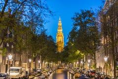 Zuiderkerk в Амстердаме, Нидерланды Стоковая Фотография RF