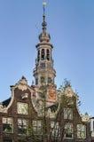Zuiderkerk (южная церковь), Амстердам Стоковая Фотография
