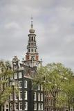 Zuiderkerk (южная церковь) в Амстердаме Нидерланды Стоковая Фотография RF