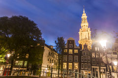 Zuiderkerk in Amsterdam, Netherlands. Royalty Free Stock Images