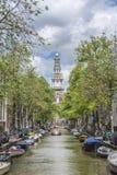 Zuiderkerk in Amsterdam, Netherlands. Stock Photos