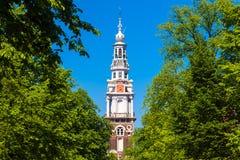 Zuiderkerk, Amsterdam, Paesi Bassi fotografia stock