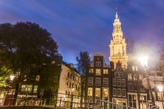 Zuiderkerk a Amsterdam, Paesi Bassi Immagini Stock Libere da Diritti