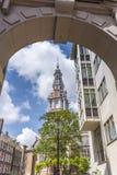 Zuiderkerk a Amsterdam, Paesi Bassi Immagine Stock