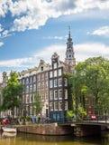 Zuiderkerk i Amsterdam Arkivfoton