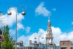Zuiderkerk i Amsterdam, Nederländerna Royaltyfri Fotografi