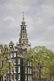 Zuiderkerk (Southern church) in Amsterdam. Netherlands Royalty Free Stock Photography