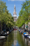 Zuiderkerk (Southern Church) in Amsterdam Royalty Free Stock Photo