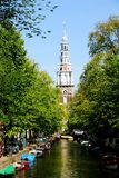 Zuiderkirk阿姆斯特丹 免版税库存图片