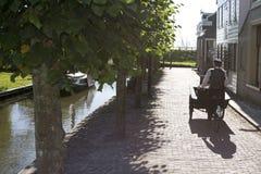 Zuiderzee博物馆的议院 免版税图库摄影