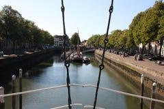 Zuidhaven口岸是荷兰市的三个城市门之一济里克泽 图库摄影