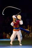 Zuidkoreaanse danser Stock Foto