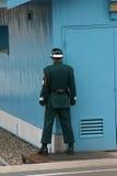 Zuidkoreaanse militair op de grens in Panmunjom Stock Afbeelding