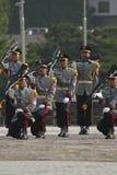 Zuidkoreaanse militaire boor Stock Afbeelding