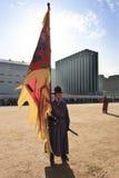 Zuidkoreaanse militairen in traditionele kleding Royalty-vrije Stock Afbeeldingen