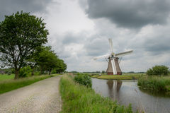 Zuidwolde Windmill Royalty Free Stock Photography