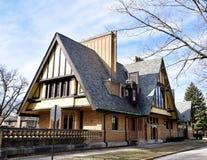 Zuidoostenmening van Nathan G Moore House royalty-vrije stock afbeeldingen