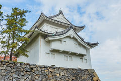 Zuidoostentorentje bij het Kasteel van Nagoya royalty-vrije stock fotografie