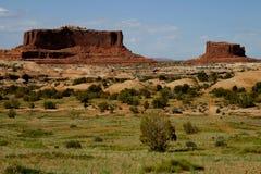 Zuidwesten - Mesas stock foto