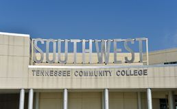 Zuidwesten Tennessee Community College Memphis, TN royalty-vrije stock foto's