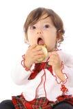 Zuigeling met ornament Stock Foto