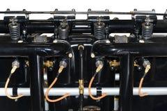 Zuigermotor voor vliegtuig Stock Afbeelding