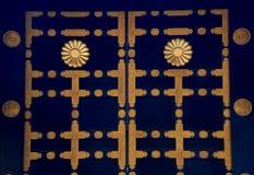 Zuihoden mausoleumdörr Royaltyfri Foto