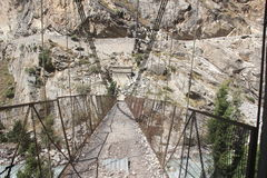 Zuinigheid die brug opschorten Royalty-vrije Stock Fotografie