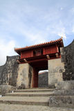 Zuisenmon at Shuri Castle Royalty Free Stock Image