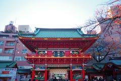 Zuishin-segunda-feira, via principal do santuário de Kanda em Chiyoda, Tóquio Fotos de Stock Royalty Free