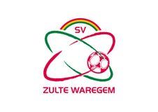 Zuite Waregem logo ilustracja wektor