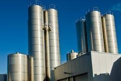 zuivelfabriek royalty-vrije stock foto's