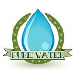 Zuiver Water royalty-vrije illustratie