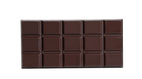 Zuivere chocolade. Royalty-vrije Stock Afbeelding