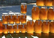 Zuivere natuurlijke honing Royalty-vrije Stock Afbeeldingen