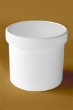 Zuivere witte doos Stock Foto