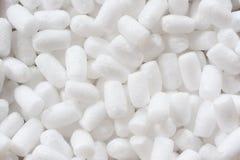Zuivere Witte Pluizige Verpakkingsmaterialen stock afbeeldingen