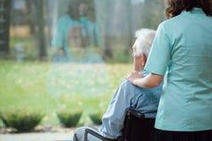 Zujubeln-oben des Patienten lizenzfreie stockbilder