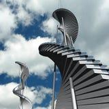 Zukünftige Architektur Stockfotos