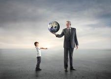Zukünftige Generationen Stockfoto
