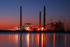 Zukünftige Kohleenergie Stockfotografie