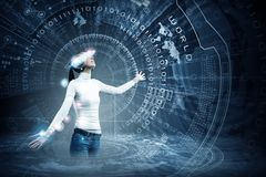 Zukünftige Technologien Lizenzfreie Stockbilder