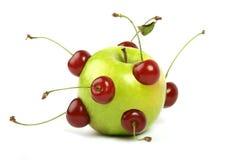 Zukünftiger Apfel Lizenzfreie Stockbilder