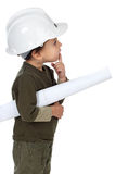 Zukünftiger Architekt Lizenzfreie Stockfotos
